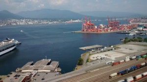 View of Burrard Inlet from MCTS